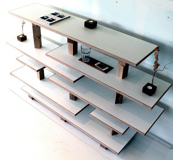 мебель из отходов производства OJ от Andreas Janson