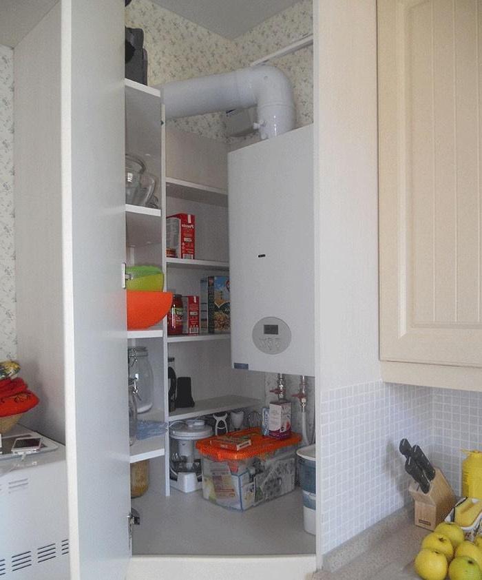 Вот каким должен быть напольный угловой шкаф для кухни!