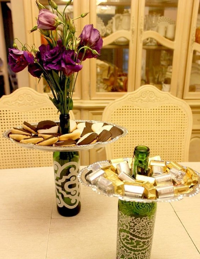 Как мебель из стеклянных бутылок от Тати Гимарайнш может вдохновить