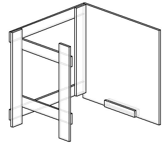 раскладной стол-книжка чертеж