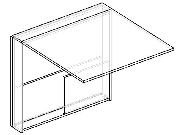 раскладной стол-книжка схема