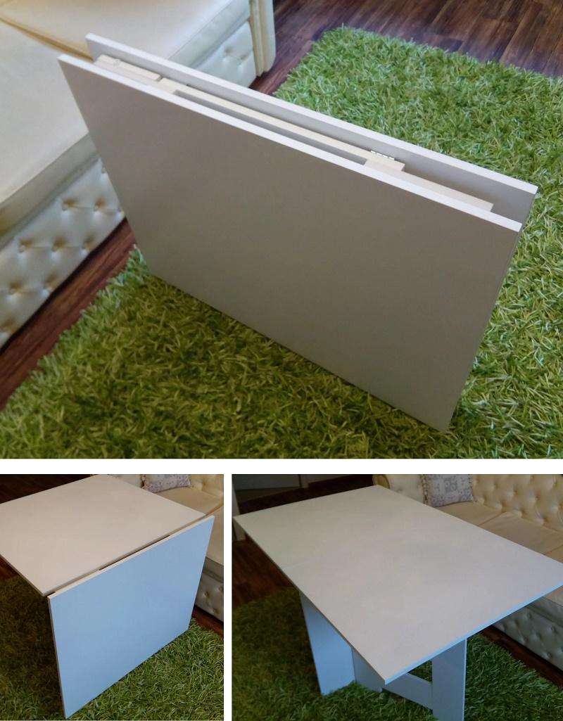 узкий раскладной стол-книжка