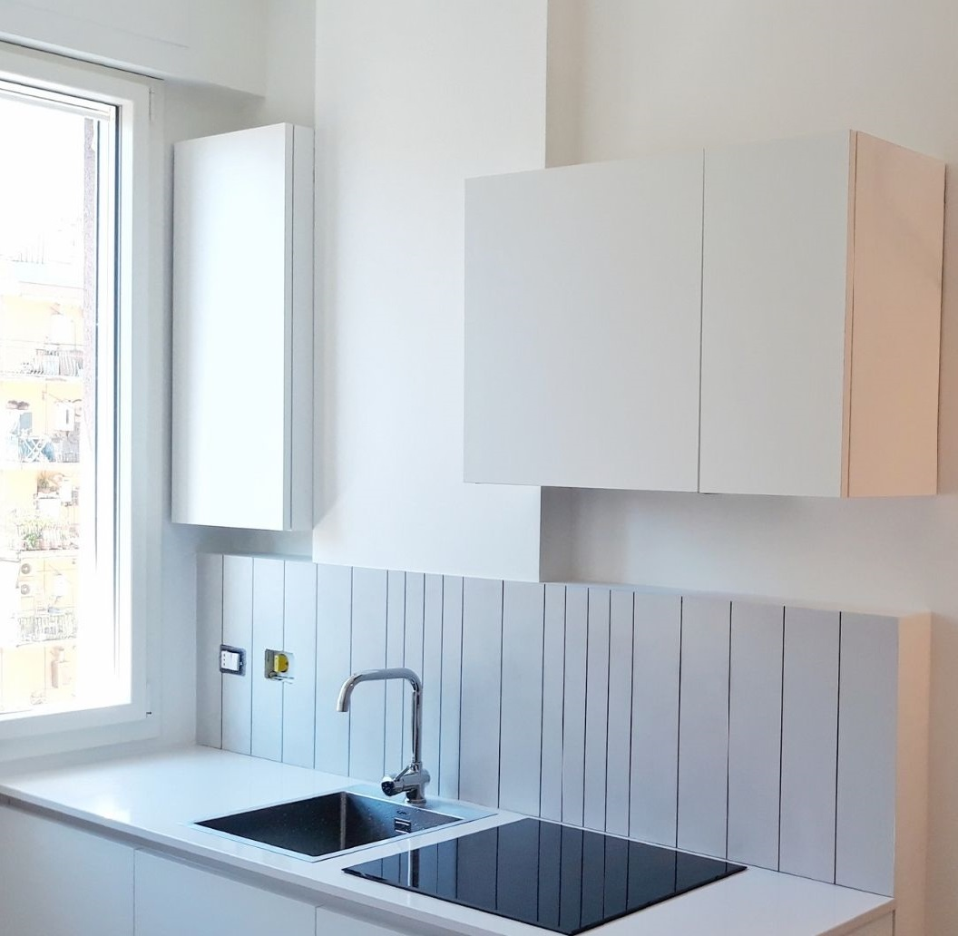 кухня в очень маленькой квартире
