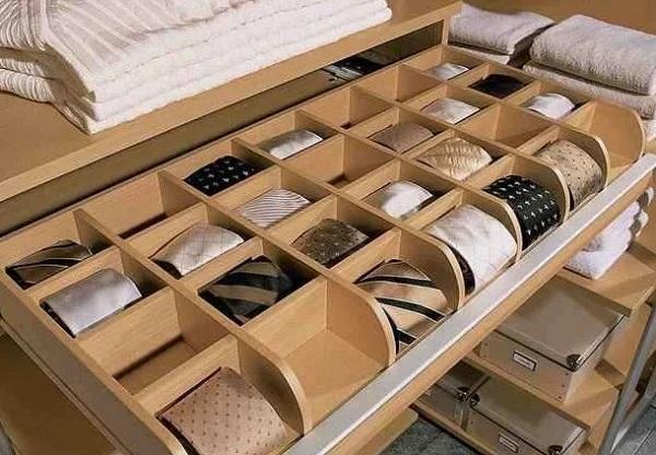 Для гардеробной и шкафа-купе: системы хранения своими руками