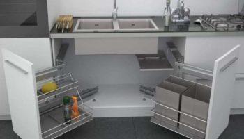 Как организовать место под мойкой функционально и эстетично