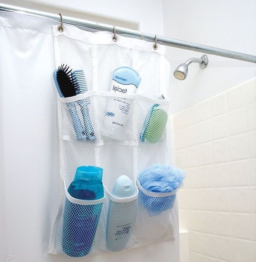 Идеи хранения в маленькой ванной из Леруа Мерлен и не только