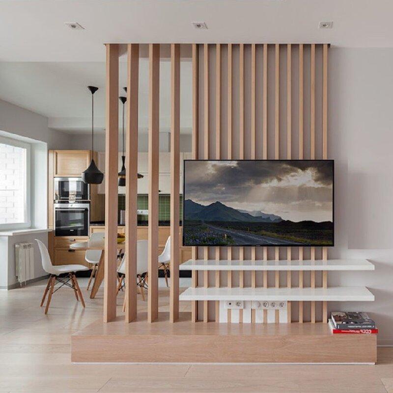мебельная перегородка для зонирования