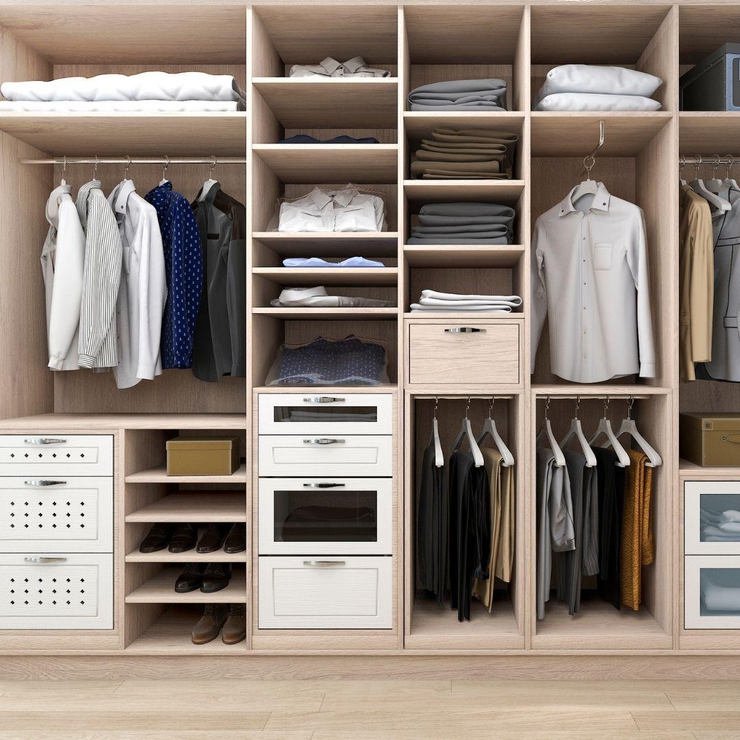 пример, как можно придумать шкаф внутри