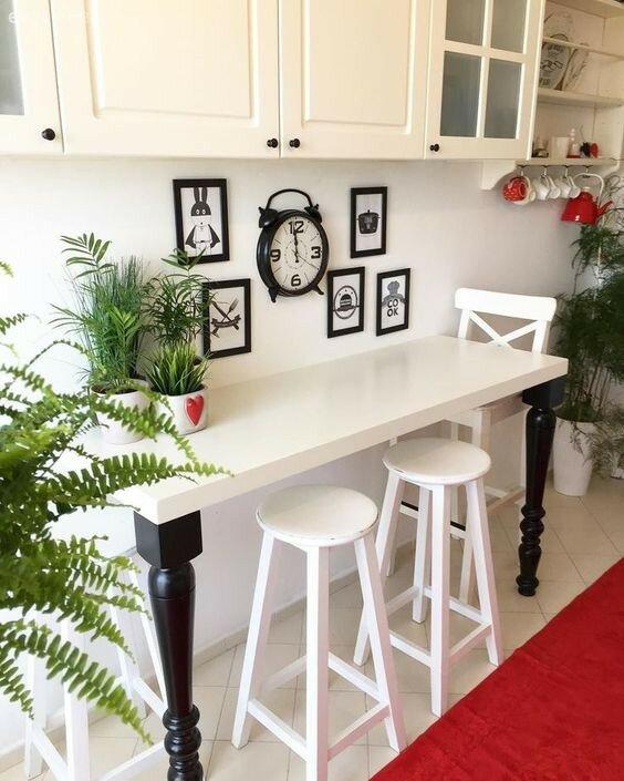 Лучшая обеденная зона для маленькой кухни: учитываем не только дизайн, но и функционал