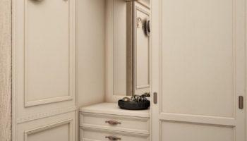 Советы дизайнера, как выбрать угловой шкаф в комнату