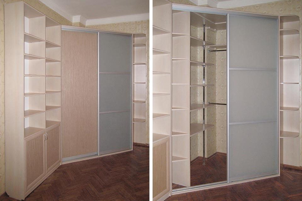 Как сделать чертеж углового шкафа-купе и учесть все нюансы